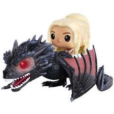daenerys avec drogon / game of thrones / figurine funko pop