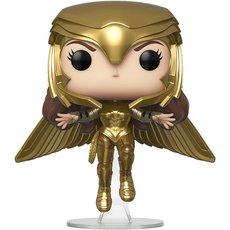 wonder woman golden armor flying / wonder woman 1984 / figurine funko pop