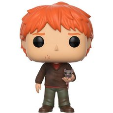 ron weasley avec croutard / harry potter / figurine funko pop