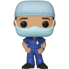 frontline heroes homme tenue bleu / heroes / figurine funko pop