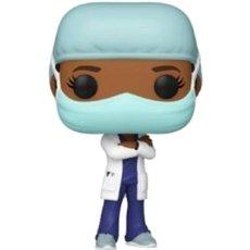 frontline heroes femme tenue bleu / heroes / figurine funko pop