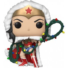 wonder woman with string light lasso / super heroes / figurine funko pop