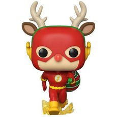 the flash holiday dash / super heroes / figurine funko pop