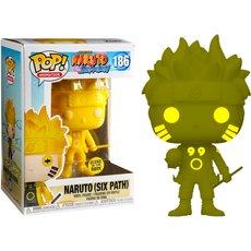 naruto six path yellow / naruto / figurine funko pop / exclusive special edition / gitd