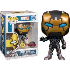 iron man model 39 / marvel / figurine funko pop / exclusive special edition / gitd