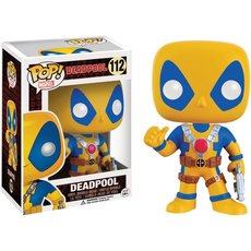 deadpool yellow / deadpool / figurine funko pop