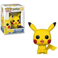 pikachu happy / pokemon / figurine funko pop