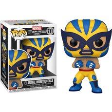 el animal indestructible wolverine / marvel luchadores / figurine funko pop
