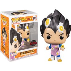 vegeta cooking with apron / dragon ball super / figurine funko pop / exclusive special edition