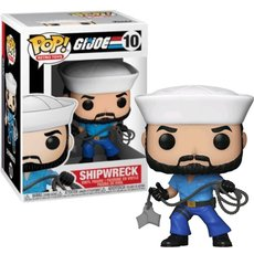 shipwreck / gi joe / figurine funko pop