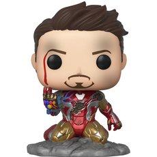 iron man i am iron man / avengers endgame / figurine funko pop / exclusive special edition / gitd