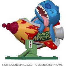 stitch in rocket / lilo et stitch / figurine funko pop