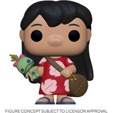 lilo with scrump / lilo et stitch / figurine funko pop