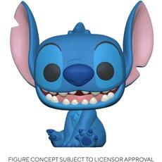 smiling seated stitch super oversized / lilo et stitch / figurine funko pop