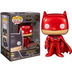 batman red metallic / batman / figurine funko pop / exclusive special edition
