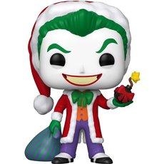 the joker as santa / super heroes / figurine funko pop