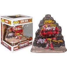 iron man graffiti deco / marvel / figurine funko pop / exclusive special edition