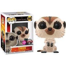 timon / le roi lion / figurine funko pop / exclusive special edition / flocked