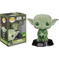 yoda military green / star wars / figurine funko pop / exclusive eccc 2021