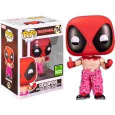 deadpool with teddy belt / deadpool / figurine funko pop / exclusive eccc 2021