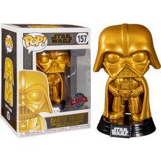 dark vador gold / star wars / figurine funko pop / exclusive special edition