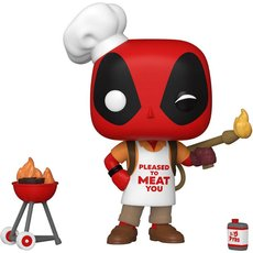 backyard griller deadpool / deadpool / figurine funko pop