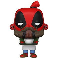 barista deadpool / deadpool / figurine funko pop