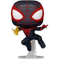 miles morales classic suit / spider-man miles morales / figurine funko pop