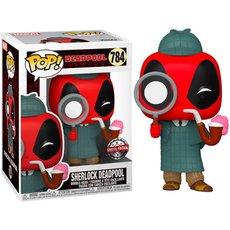 sherlock deadpool / deadpool / figurine funko pop / exclusive special edition