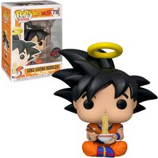 goku eating noodles / dragon ball z / figurine funko pop / exclusive special edition