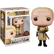 ser brienne of tarth / game of throne / figurine funko pop / exclusive special edition