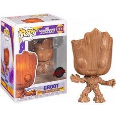 groot wood / les gardiens de la galaxie / figurine funko pop / exclusive special edition