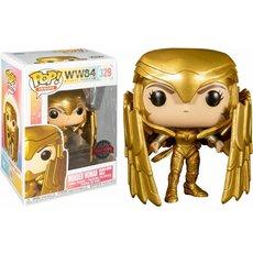 wonder woman golden armor shield / wonder woman 84 / figurine funko pop / exclusive special edition