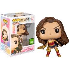 wonder woman with tiara boomerang / wonder woman 84 / figurine funko pop / exclusive eccc 2021