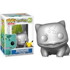 bulbasaur silver / pokemon / figurine funko pop