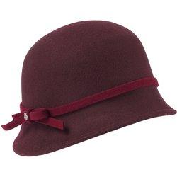 bei Peter Hahn: Filzhut Roeckl rot - Mützen und Hüte