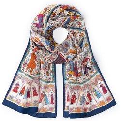 bei Peter Hahn: Schal aus 100% Seide Roeckl mehrfarbig - Schals