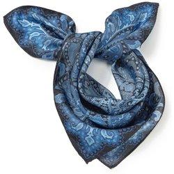 bei Peter Hahn: Nicki-Tuch aus 100% Seide Uta Raasch blau - Tücher