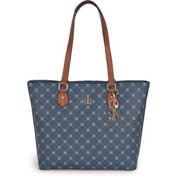 bei Peter Hahn: Shopper Basler blau - Damentaschen
