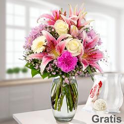 Blumenstrauß Glücksmoment
