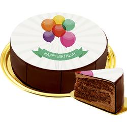 Motiv-Torte Happy Birthday