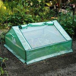 Folien-Frühbeet, Kunststoff, 120x120x60 Zentimeter
