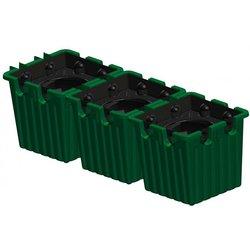 Oasebox, 3er-Set grün