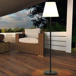 EasyMaxx Solar-Außenstandleuchte, 150x34 Zentimeter, schwarz