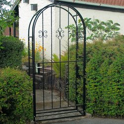Gartentor Eisen-Portal