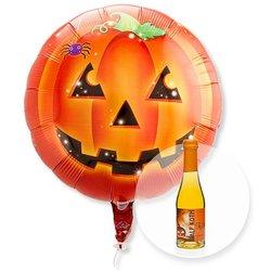 Ballon Halloween Kürbis und Halloween-Secco