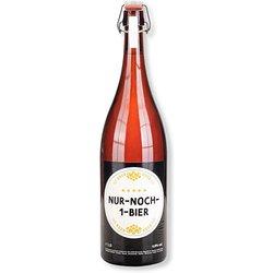 Doppelmagnum-Flasche Nur noch ein Bier