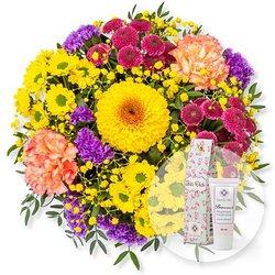 Buntes Glück und Blütenrausch Pfingstrosen-Handcreme Für Dich