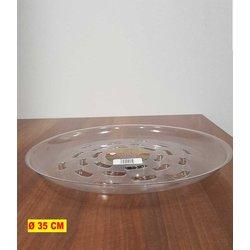 Transparenter Untersetzer 35 Zentimeter