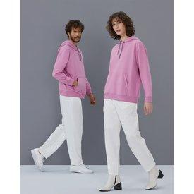 moletom costuras contrastantes, rosa